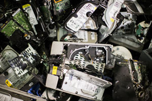 Hard Drive and Electronic Media Shredding