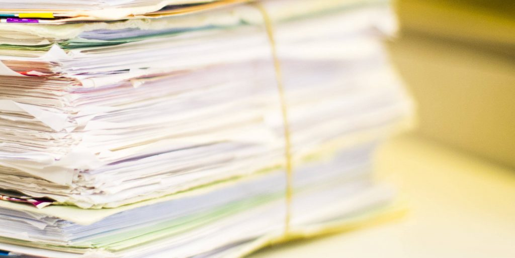 Project Management Document Scanning