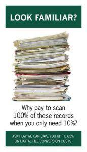 Medical Record Scanning, Scan on Demand, Medical Records, EMR, EHR, Hospital Records, Cheap Scanning