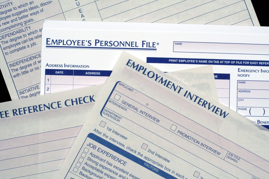 Human Resource Document Scanning