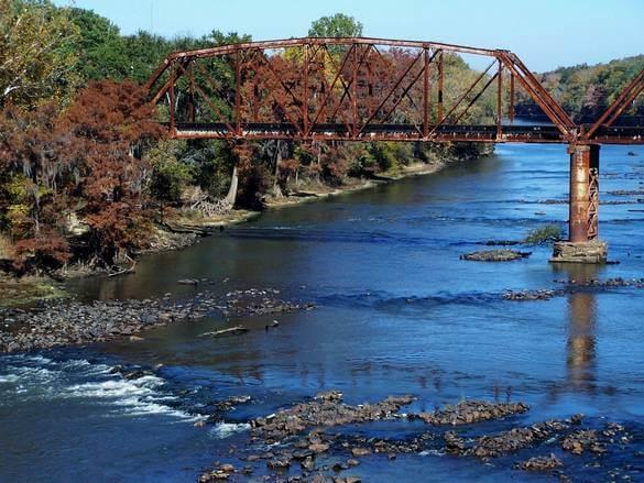 Flint River - Albany, Georgia