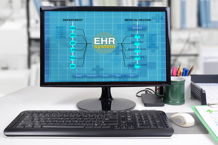 EHR or electronic health record system