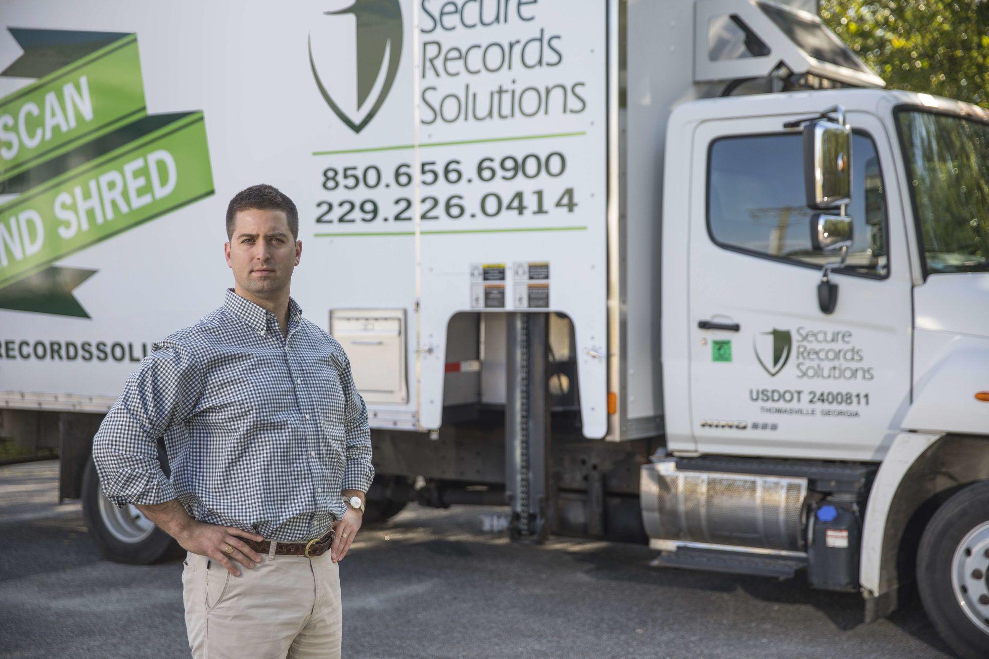 Shred Truck, Mobile Shredding, Onsite Shredding, Onsite Shred Purge, Onsite Paper Shredding, Shredding Tallahassee