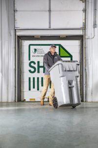 gallon shredding container