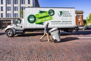 mobile shred truck